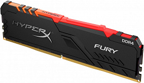 Оперативная память 16Gb DDR4 2666MHz Kingston HyperX Fury RGB (HX426C16FB3A/16)