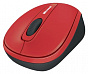 Мышь Microsoft Wireless Mobile Mouse 3500 Limited Edition Flame Red USB (GMF-00293)