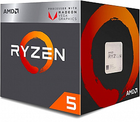 Процессор AMD Ryzen 5 2400G BOX (YD2400C5FBBOX)